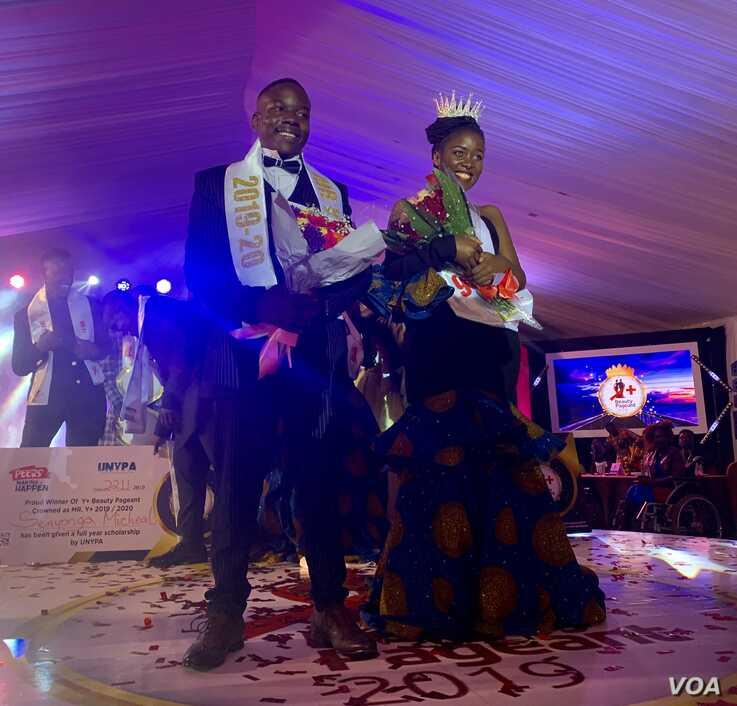 Mr. and Miss Y+ Beauty Pageant 2019-2020 in Kampala, Uganda, Nov. 22, 2019.