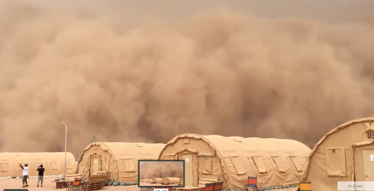 U.S.-constructed air base in Agadez, Niger