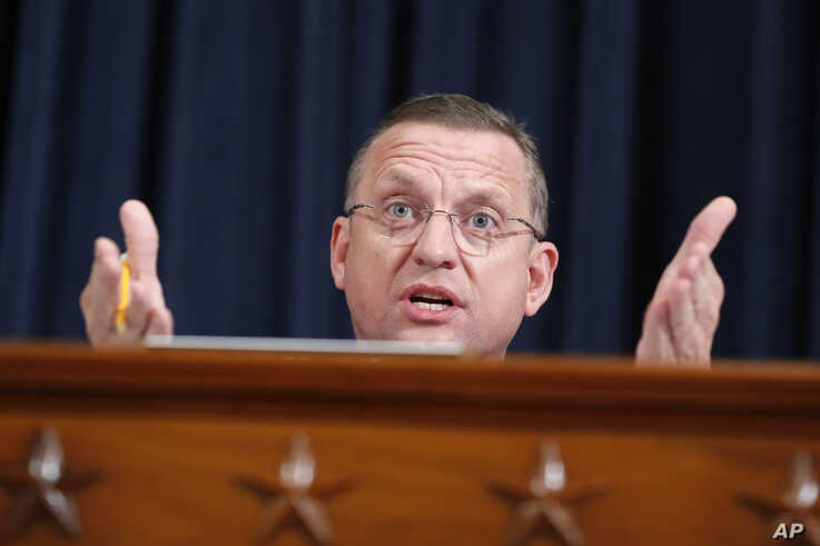 Ranking member Rep. Doug Collins, R-Ga., speaks as the House Judiciary Committee hears investigative findings