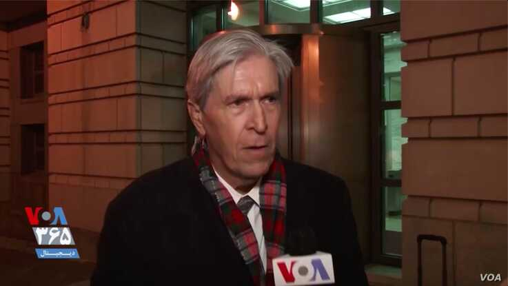 David McGee, a lawyer for the family of Robert Levinson, speaks to VOA Persian in Washington, Dec. 4, 2019, about the family's l