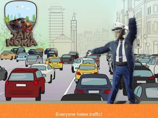 """""""Jam Noma,"""" a video game from Usiku Games allows players to drive a local matatu minibus and navigate congestion."""