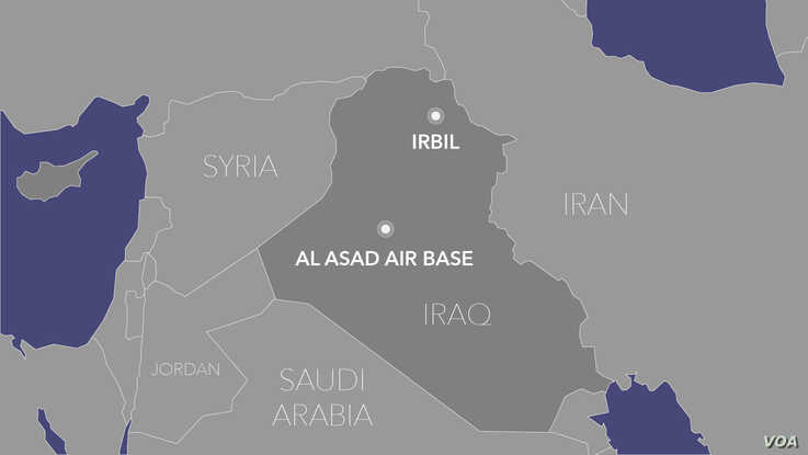 al-Asad air base Iraq