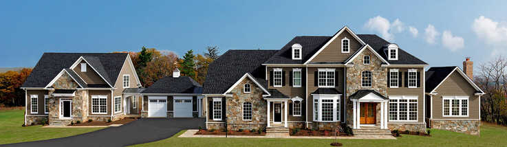 In Virginia, builder Carrington Homes offers an accessory dwelling unit, a second living unit (left), as an option for their new homes. (Photo from builder's website)