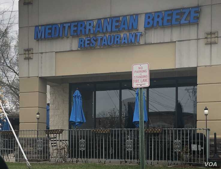 The operators of Mediterranean Breeze Restaurant in suburban Washington, D.C., hoped business would improve as the weather warmed and patrons could sit in the popular outdoor area.weather would improve business