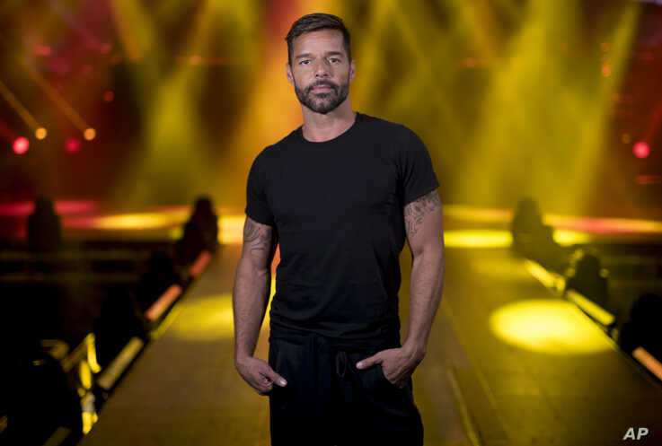 Puerto Rican singer Ricky Martin, who will perform in concert starting next Feb. 7 at the Puerto Rico Coliseum Jose Miguel…