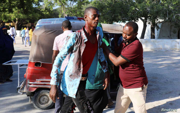 Auto bomb leaves over 20 dead in Mogadishu - police, witnesses