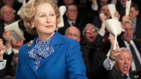 """Meryl Streep's performance in """"The Iron Lady."""" (The Weinstein Company)"""