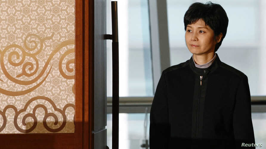 FILE - Former North Korean spy Kim Hyon-hui arrives March 11, 2009, to meet with family members of Yaeko Taguchi who was abducted by North Korea decades ago. Kim said she knew Taguchi who was kidnapped to teach Japanese to the North's agents. Kim was s...