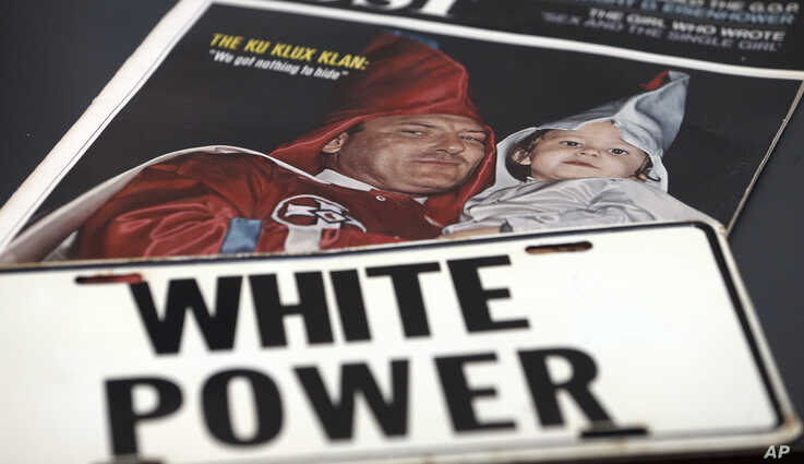 White supremacist material is on deeply in the new Markel Center which houses the Virginia Commonwealth University Institute…